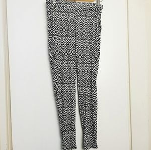 Serra Pants Tribal size 8 drawstring front tapered leg Quirky Psychedelic Vivid